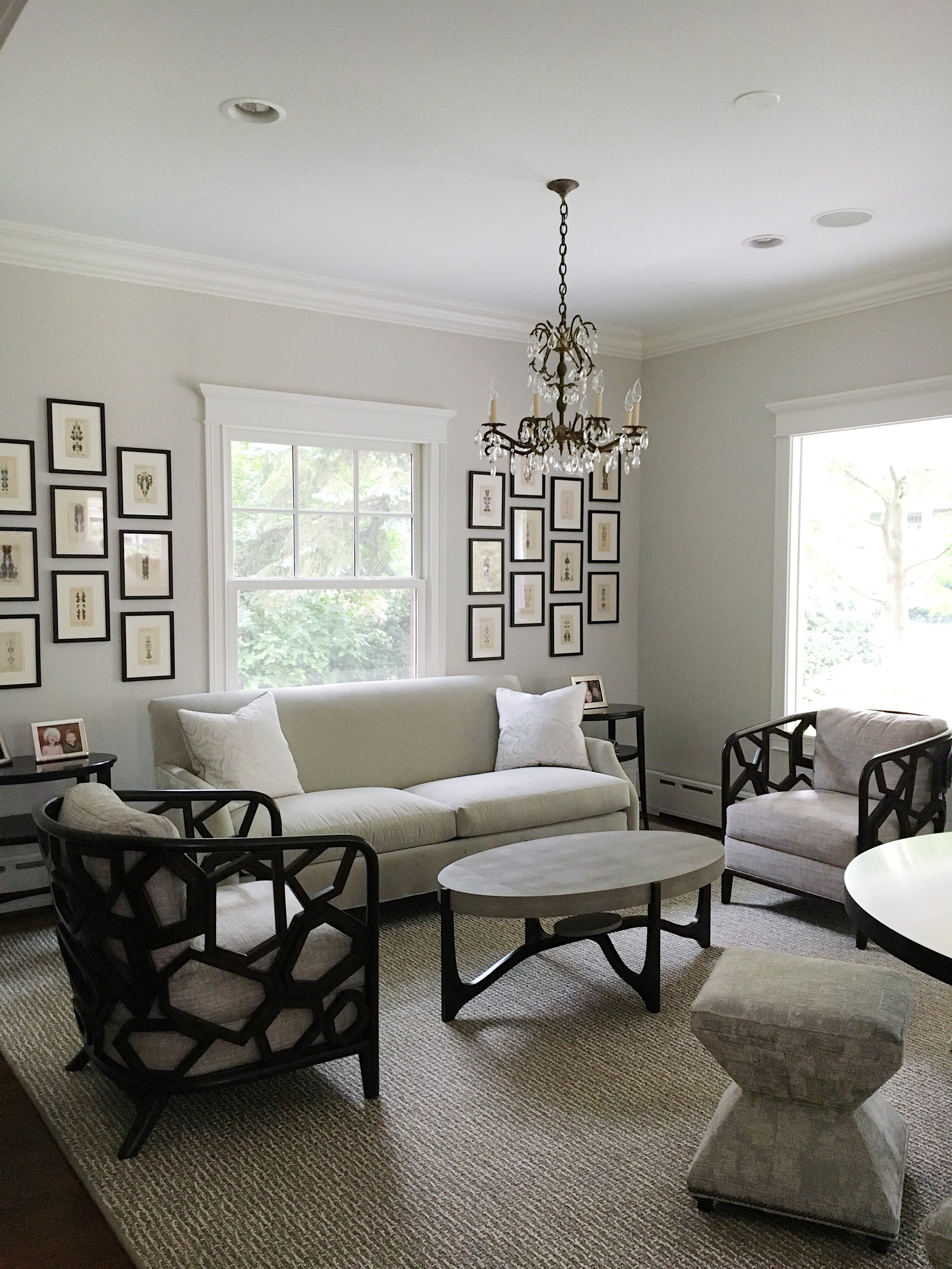 A light and bright Living Room for an inspiring #FavClient !!