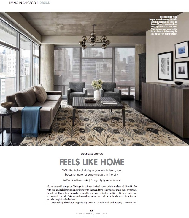 Getting published by CS Interiors. What a way to start off the year & celebrate my birthday!