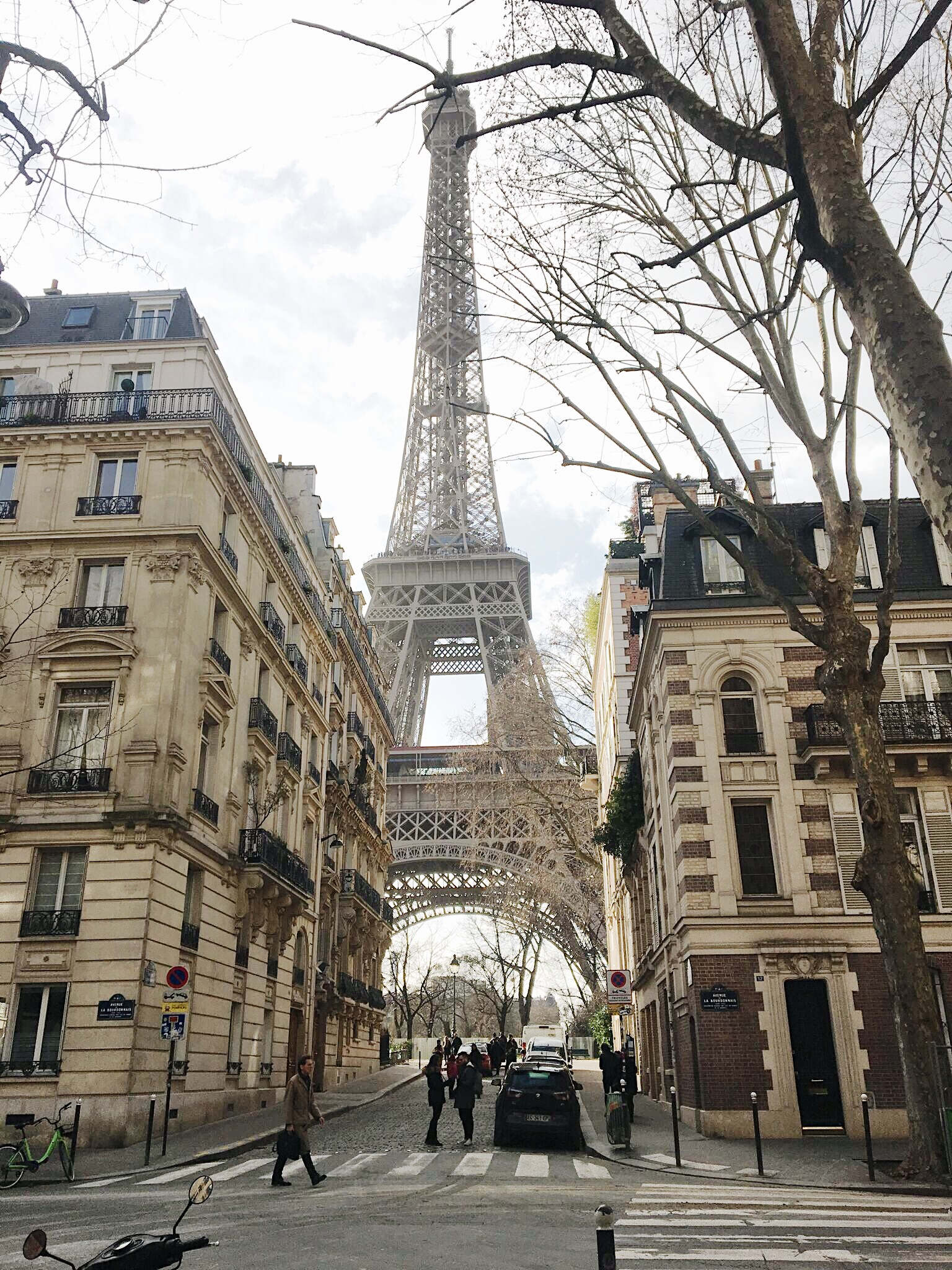 A photo Annie snapped of the breathtaking Eiffel Tower!