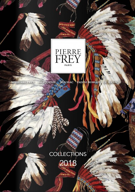 Pierre Frey's Catalog of the 2018 Collections.