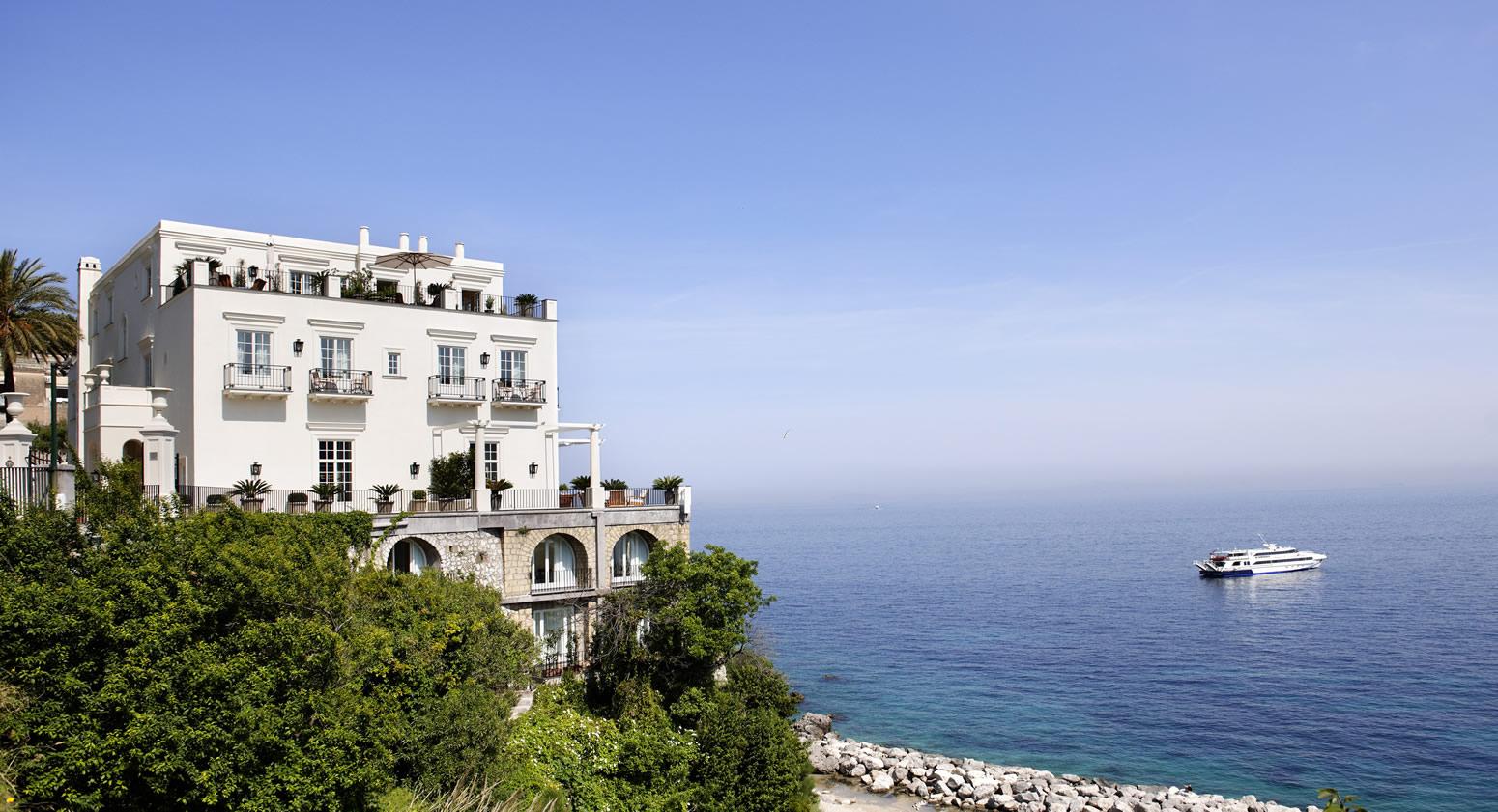 The iconic JK Place Capri.