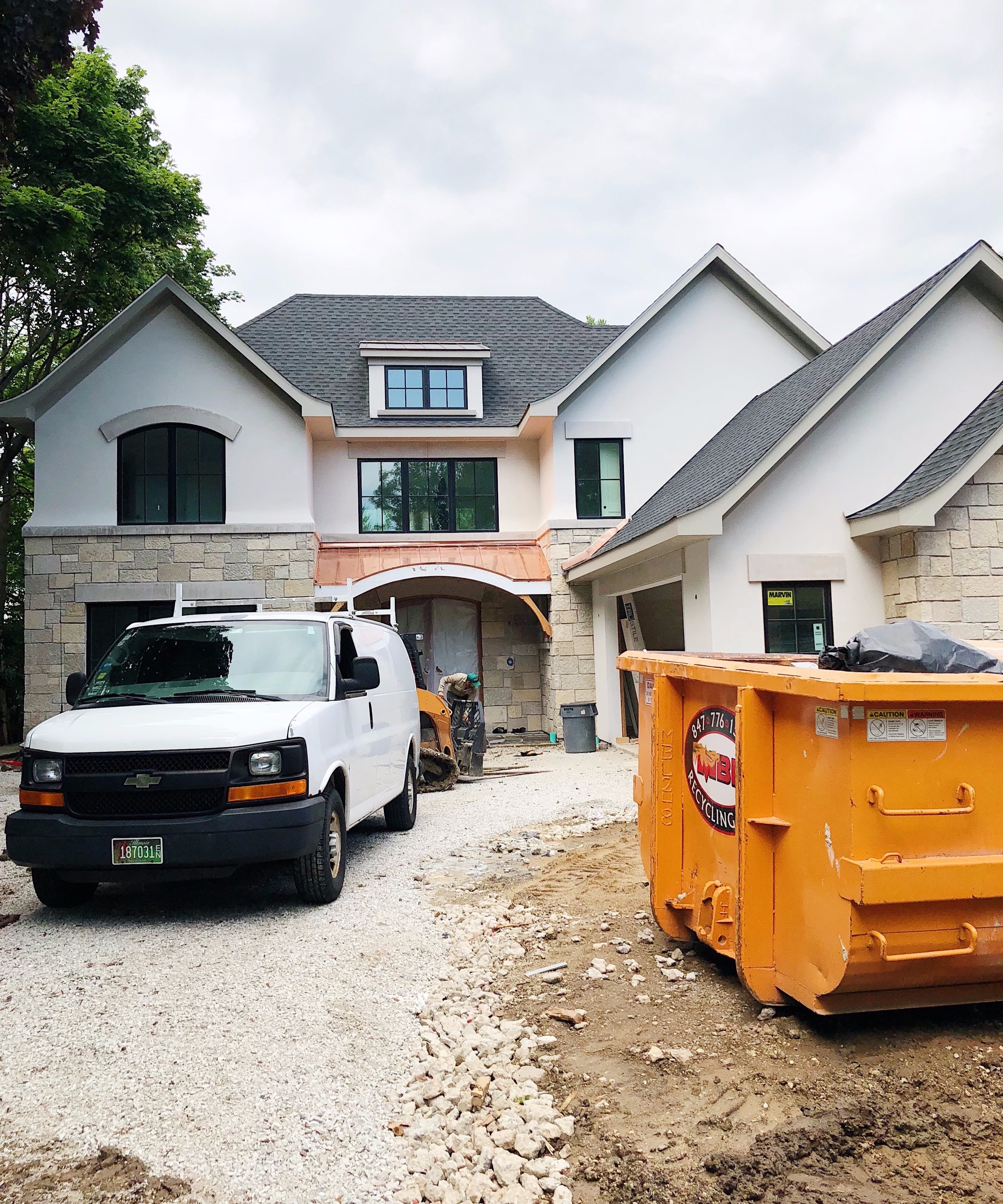 "It's a dream come true for our favorite Glencoe empty nesters as they head toward the construction finish line - Making ""visiting the grandparents"" cool again!"