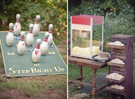 Whether indoor or outdoor games these can be really good to lighten up the atmosphere at a wedding reception.