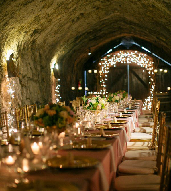 Being from Nottingham there are so many caves which would make a great 'alternative' wedding venue.