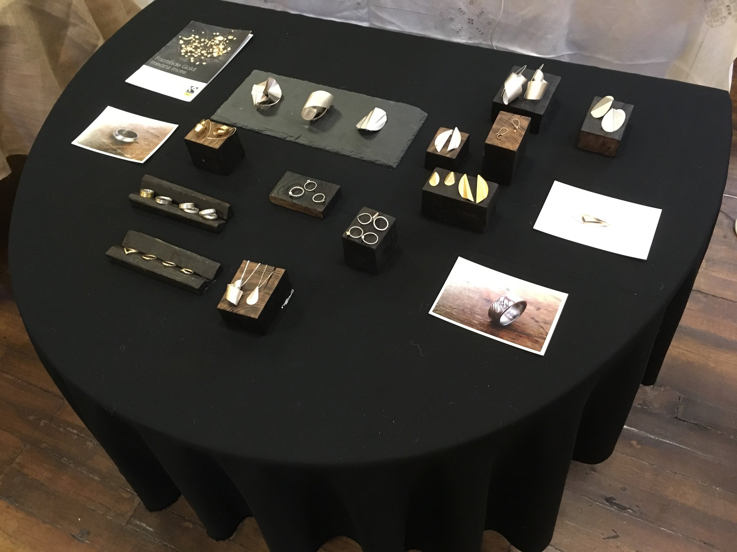 Vicki Pearce  had some lovely Jewellery pieces on display.
