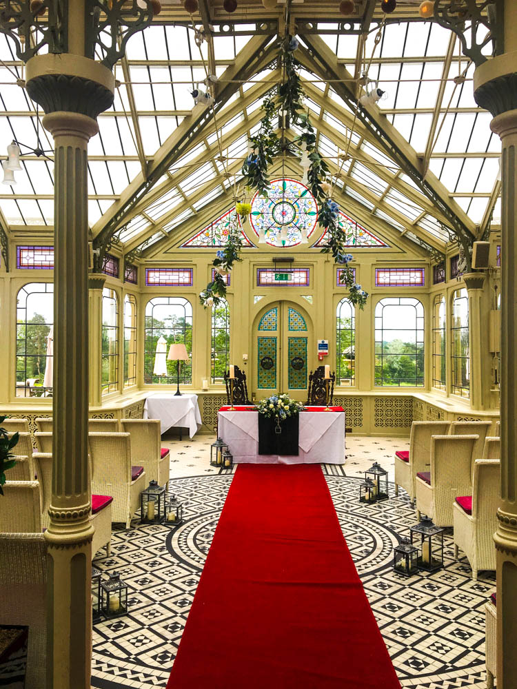 Natural ceremony- Kilworth House