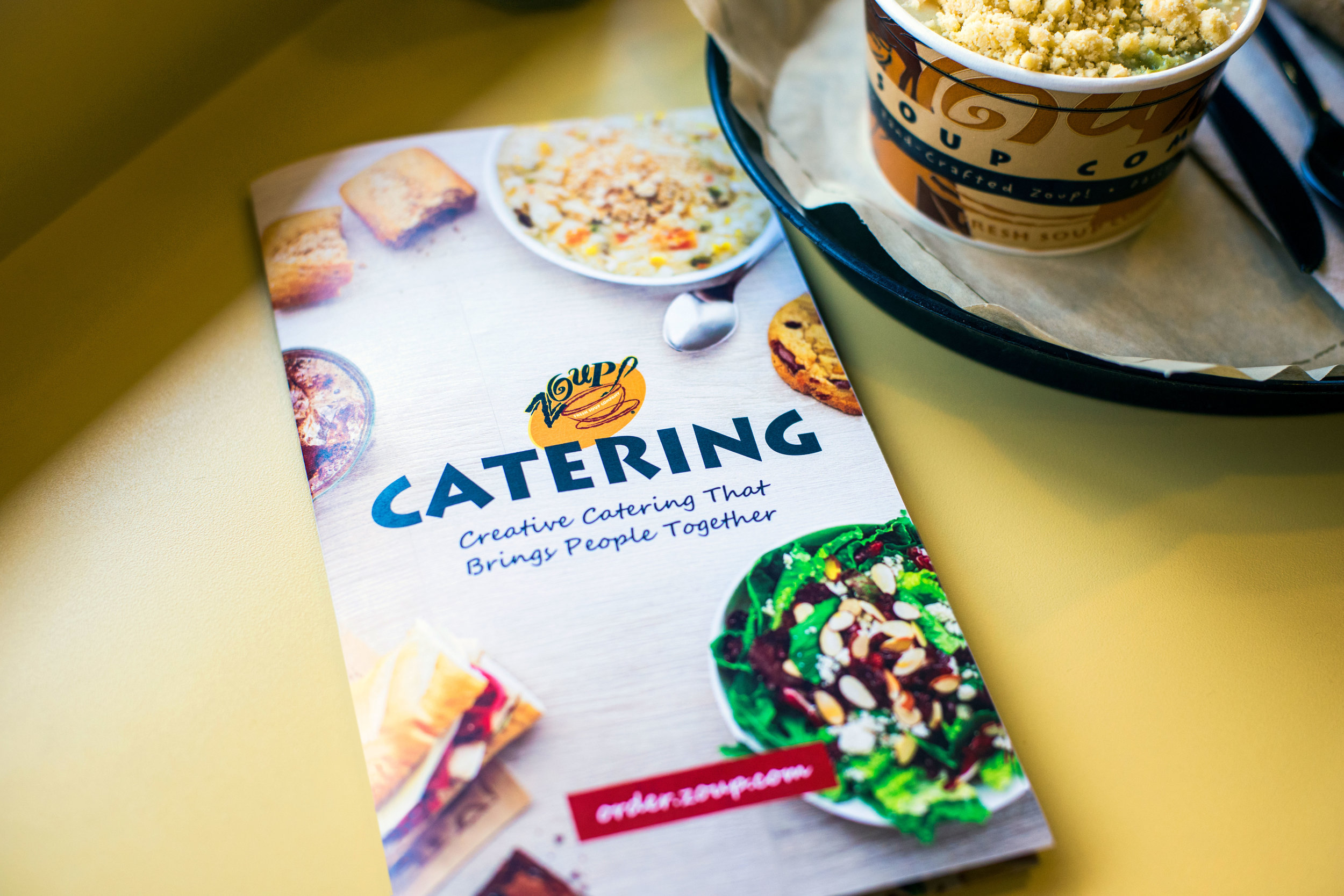 Catering Menu Redesign and Art Direction