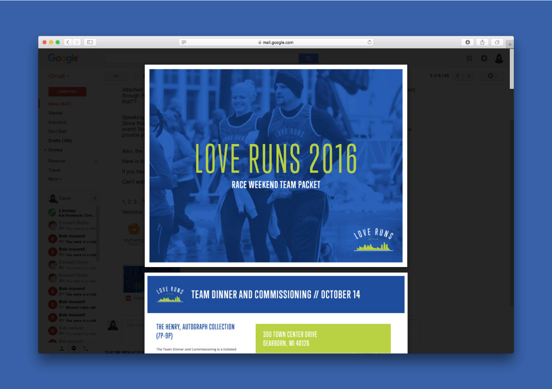 Race Weekend Details Interactive PDF