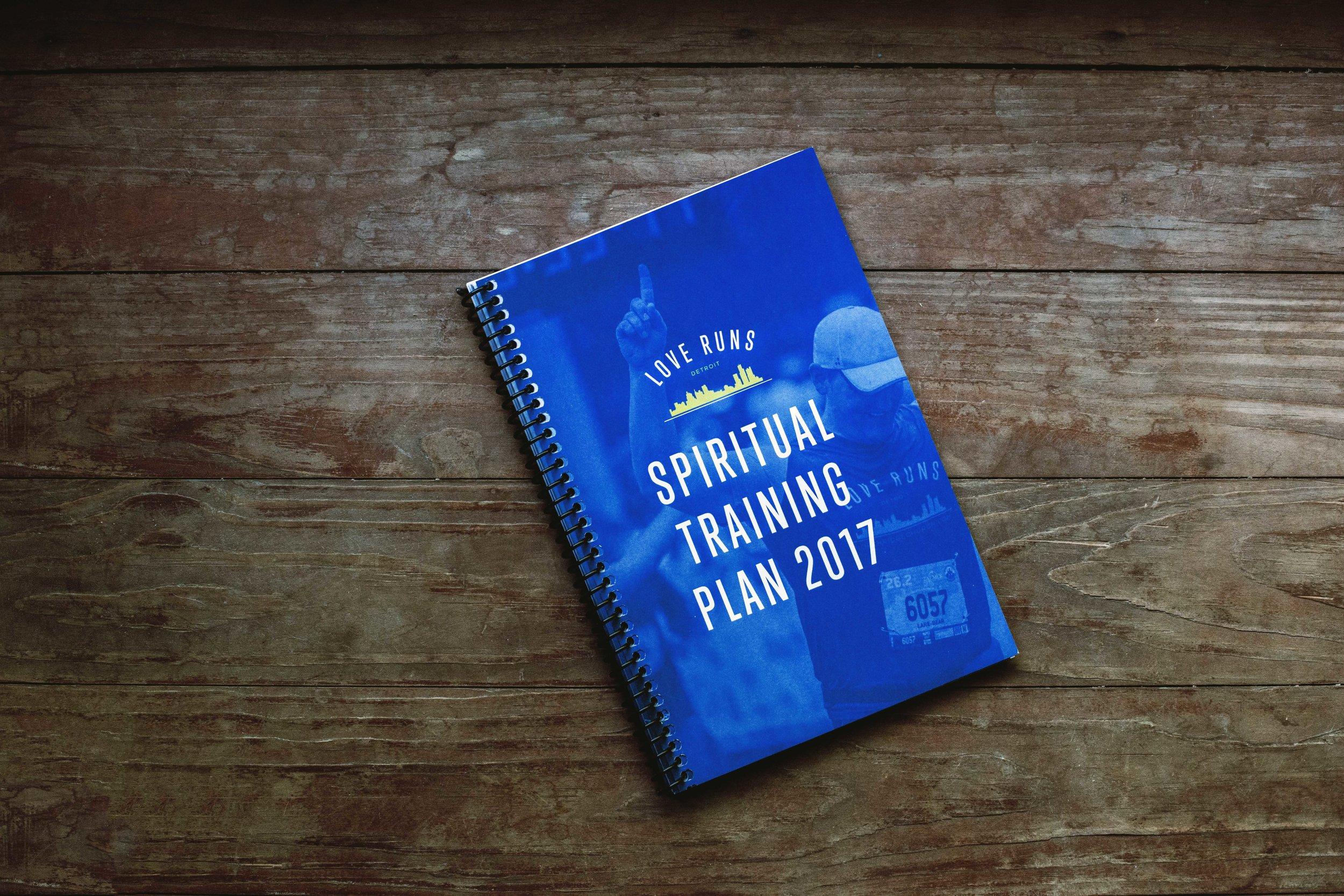 Spiritual Training Plan, 78 Pages