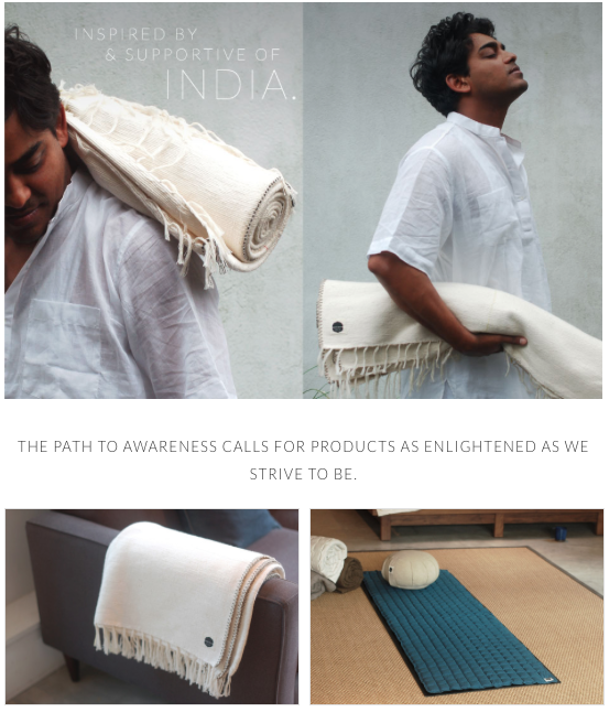 Wrote all the copy on the website for Priti created by Joanna Feldheim, a creative director, product developer and lover and practicer of Iyengar Yoga for more than 15 years.  Priti [ Sanskrit for joyful, rapture, bliss]is an online store that produces, curates and sells an eclectic array of necessary, modular products that enhance one's yoga practice while supporting cotton growers, artisans and communities.  Founder and Designer:  Feldheim Creative