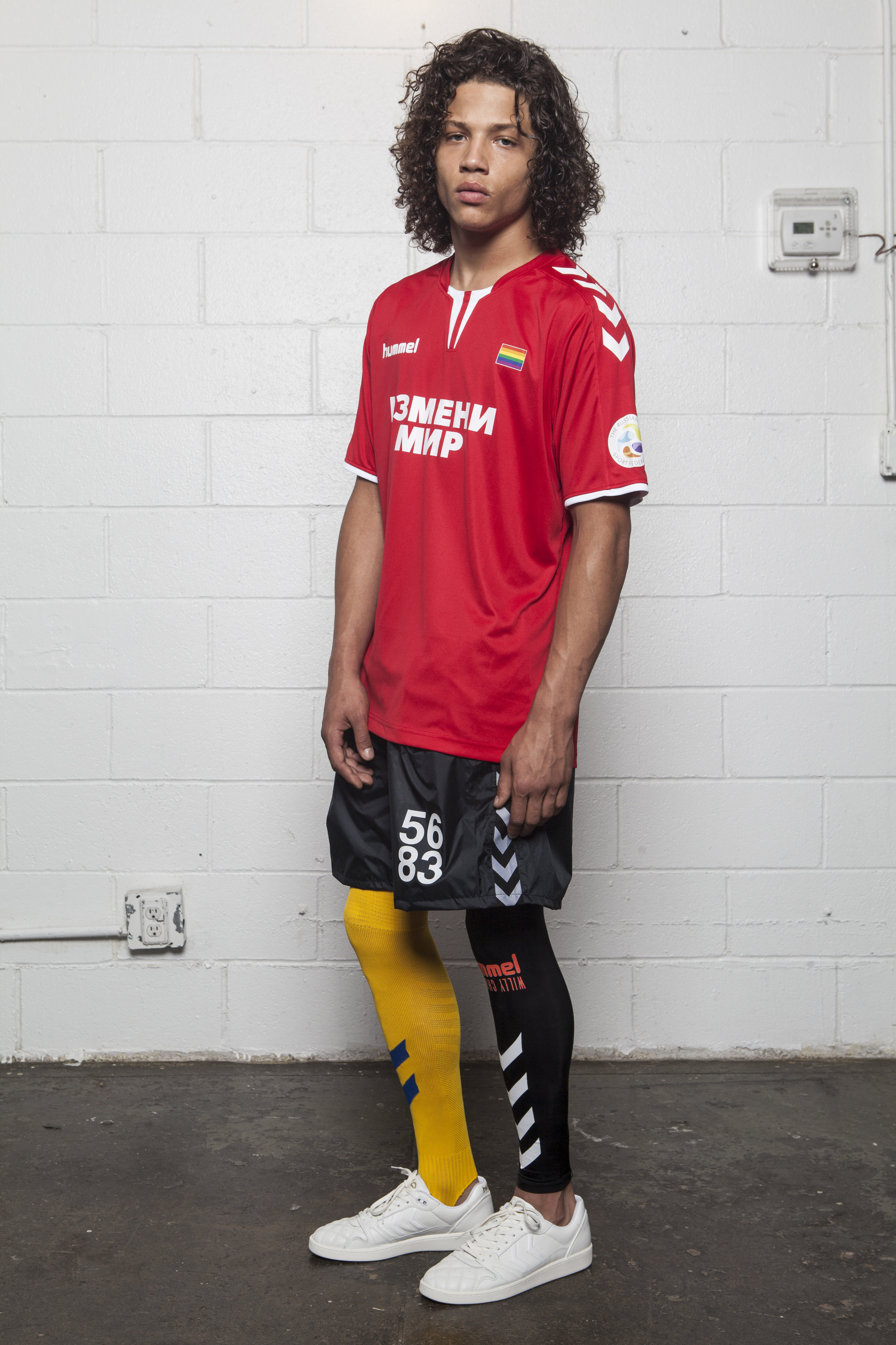 WILLY CHAVARRIA X HUMMEL SS19 LOOK