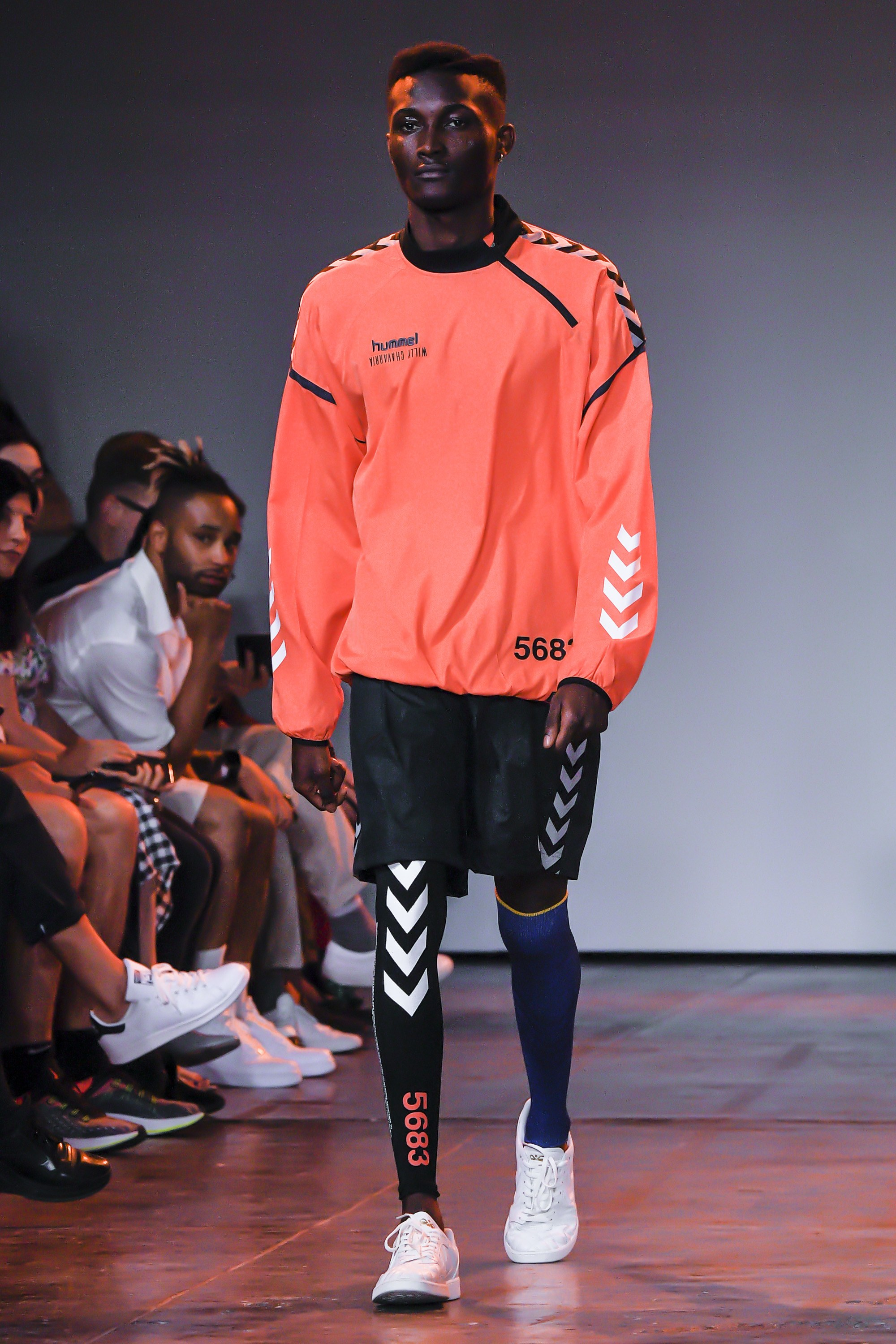 WILLY CHAVARRIA X HUMMEL SS19 VOGUE RUNWAY