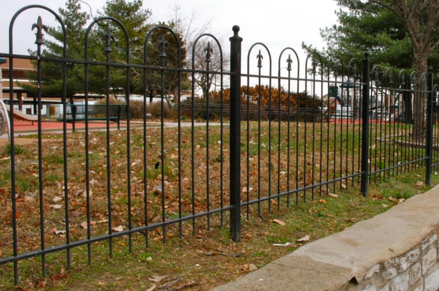 Soulard Market Park & Pontiac Square ParkOrnamental Iron Fencing