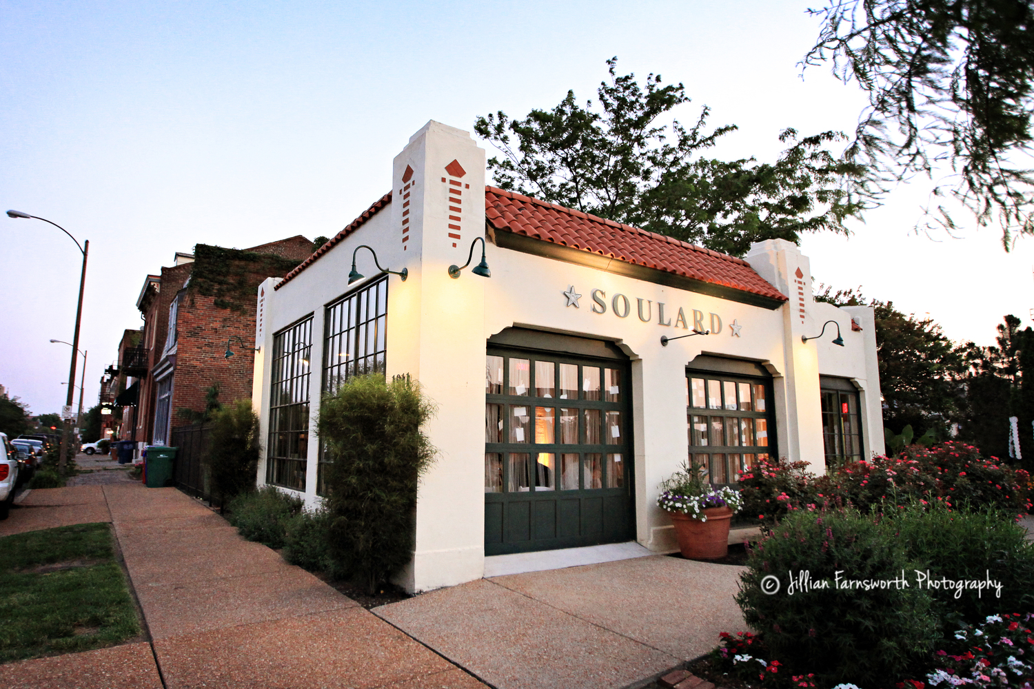 Another past grant was awarded for the renovation ofSoulard Station, which marks the entrance into the Soulard neighborhood.  Copyright: Jillian Farnsworth