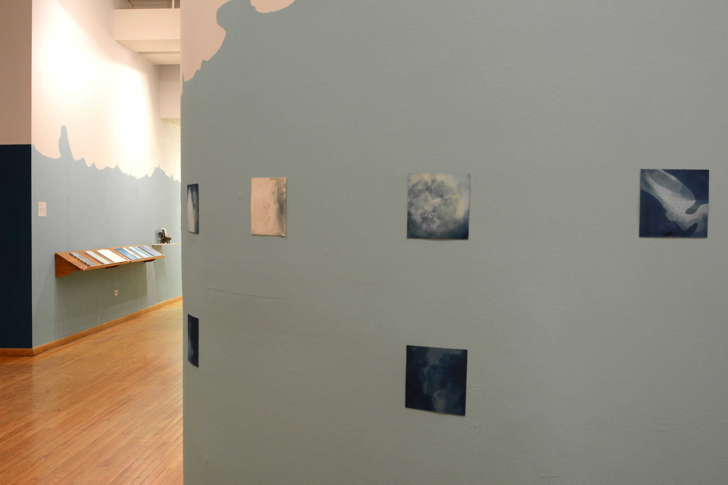 Installation view at the Center for Book, Paper, and Print at Columbia College Chicago.