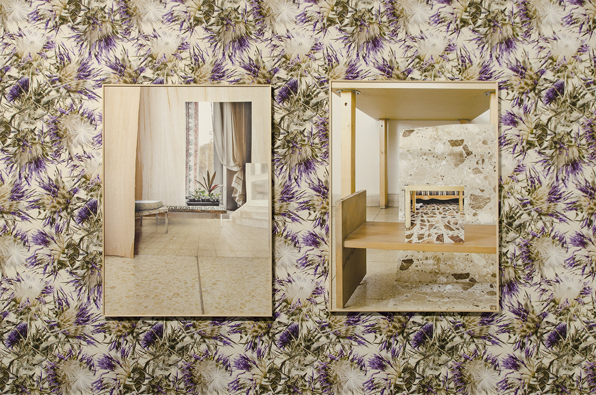 Paper Walls (10), 2017, Jerusalem biennial of art. Part of the group exhibition 'Dreamland Never Found', curated by Maria Veits