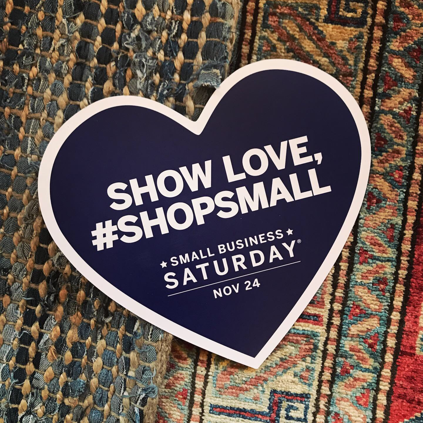 #ShopSmall with us all weekend!