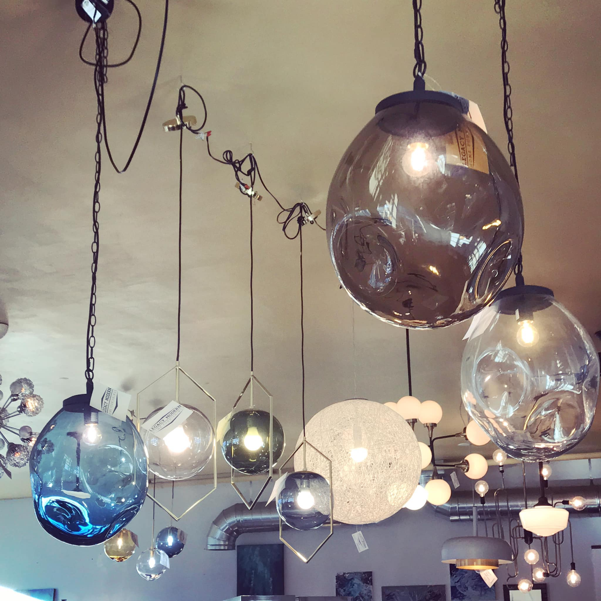 Come browse our beautiful new lighting from UMAGE, Casamotion & more, all on sale this weekend!