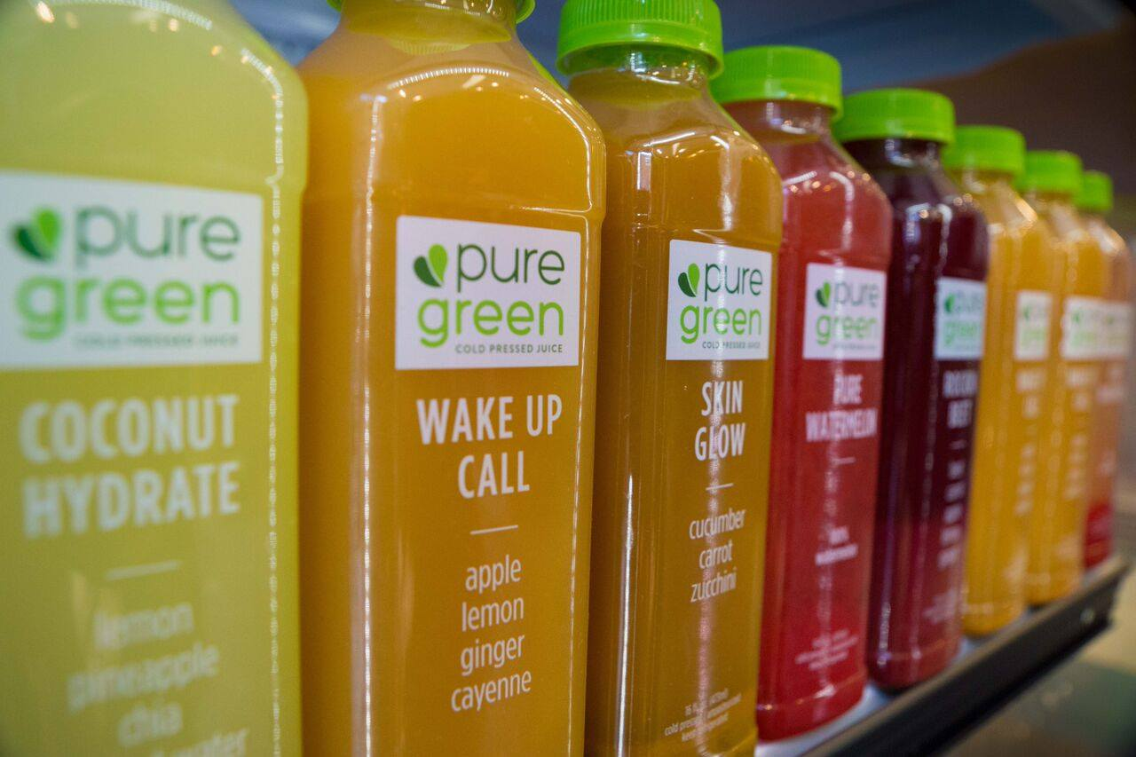Wake Up Call Cold Pressed Juice