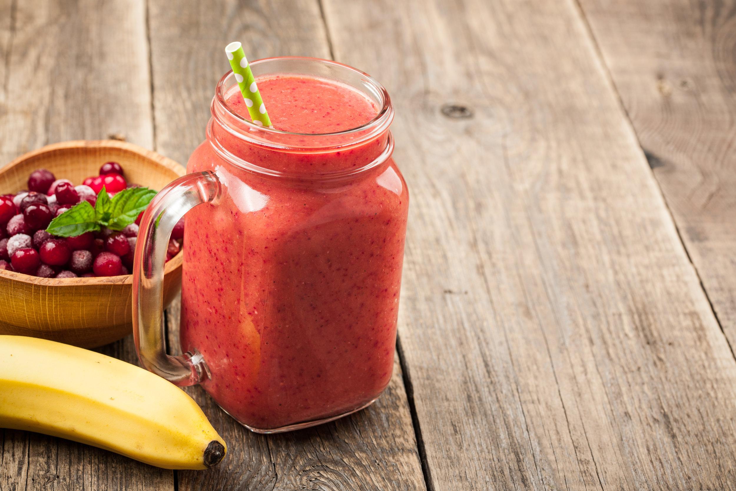 banana-cranberry-smoothie-mug-and-ingredients-on-PL8Z99S.jpg