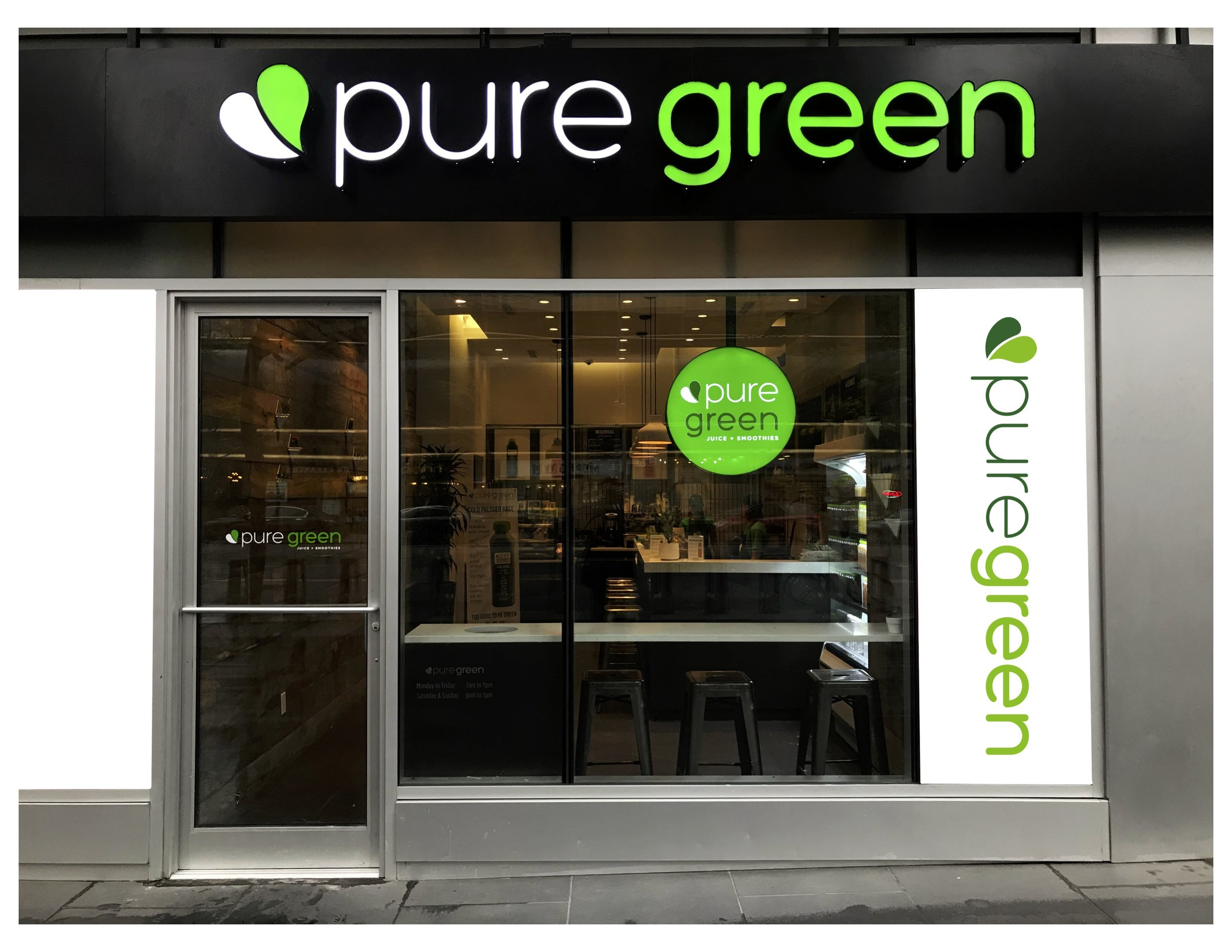 Pure Green 62nd Street Upper East Side