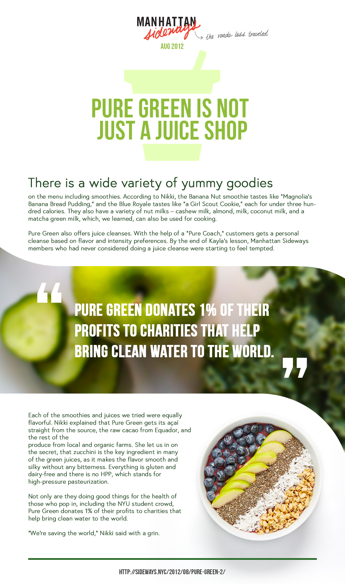 Pure Green is the best juice bar in NYCjpg