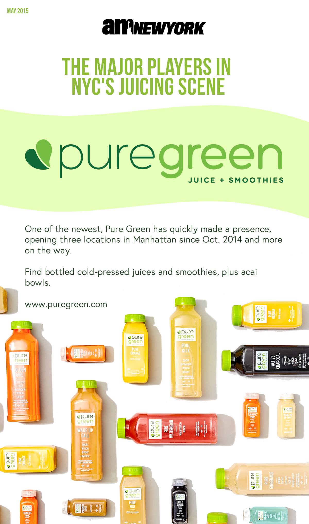 Pure Green is a major player in New York City's Cold Pressed Juice Scene.jpg