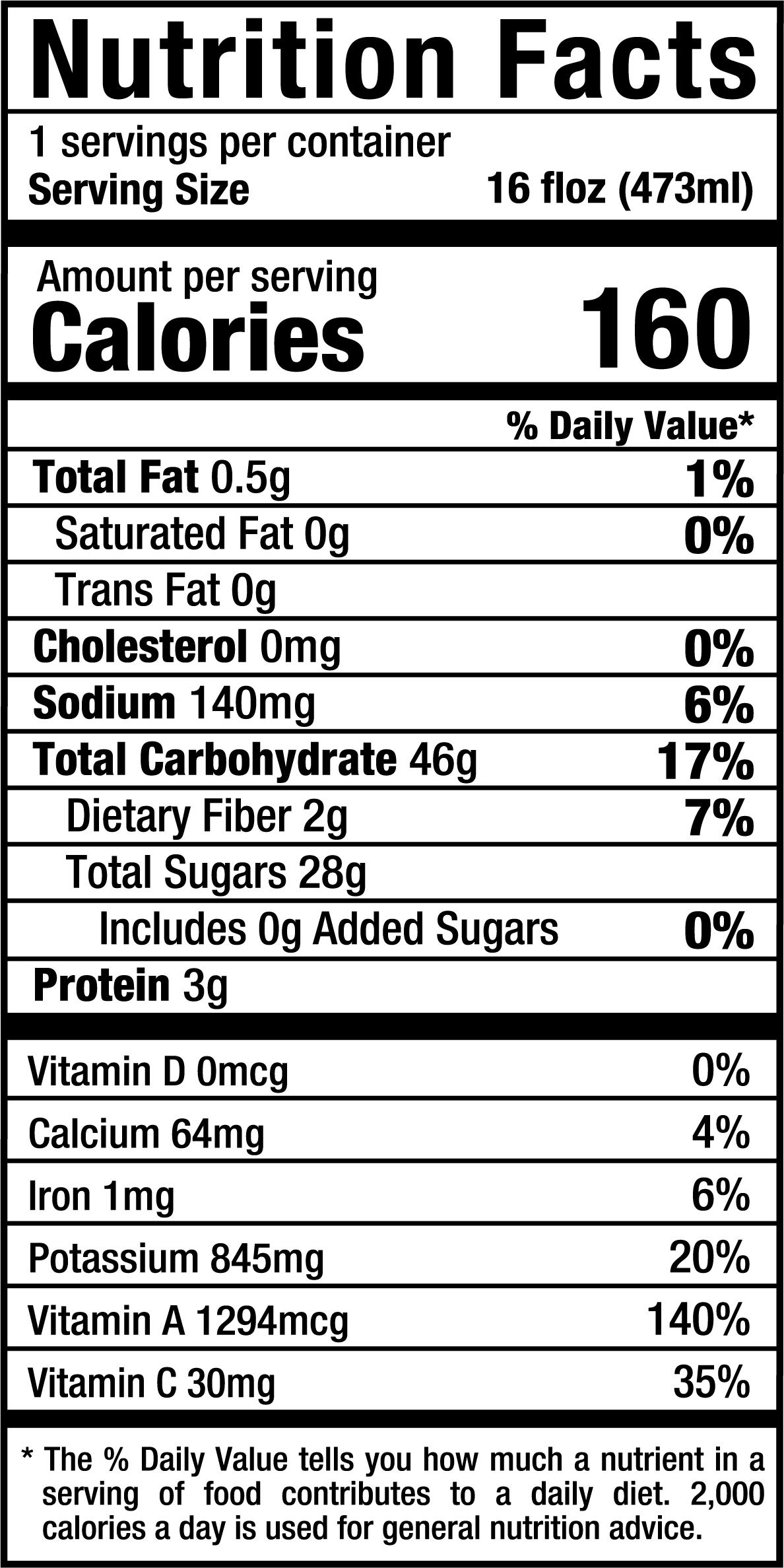 RockinBeet_16oz_Nutrition Label.png