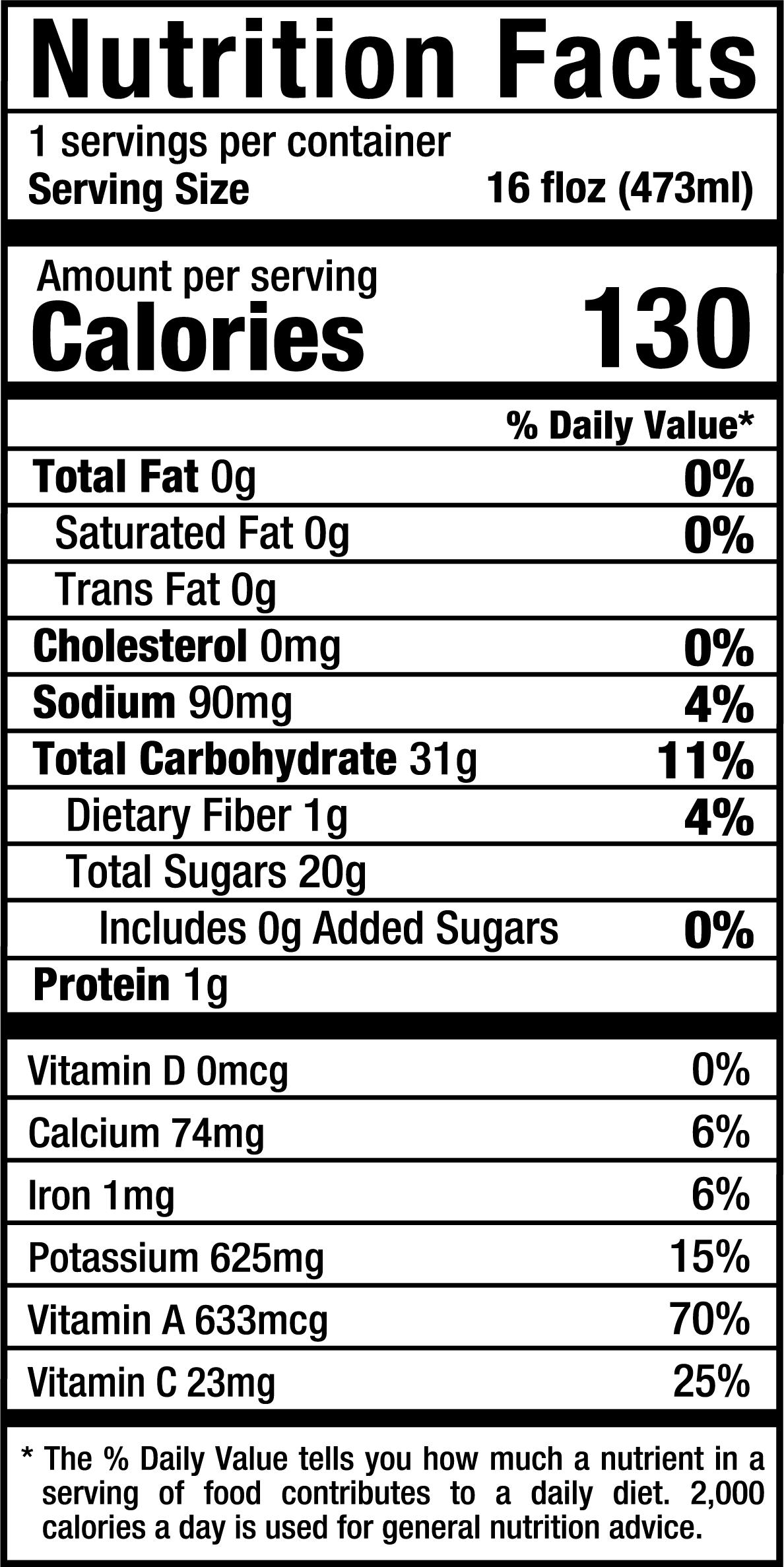 PureGreensA_16oz_Nutrition Label.png