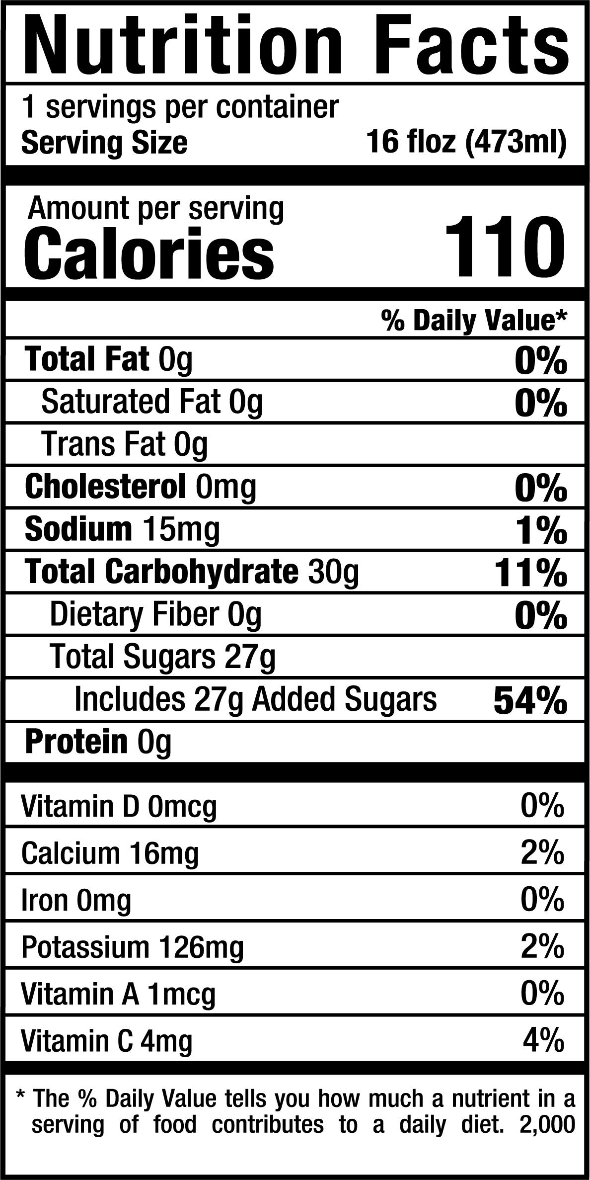 PureGingerade_16oz_Nutrition Label.png
