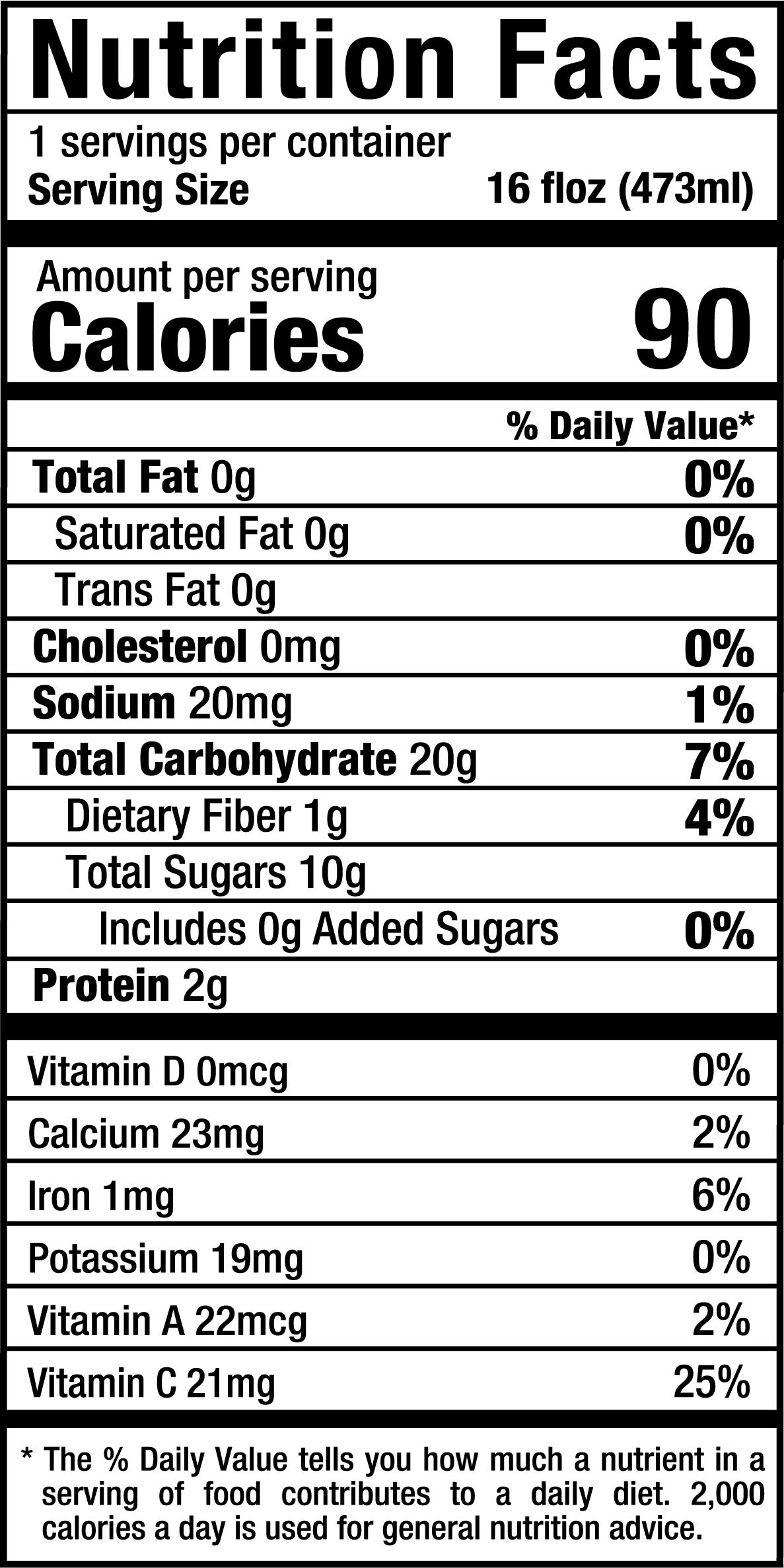 PureWatermelon_16oz_Nutrition Label.png
