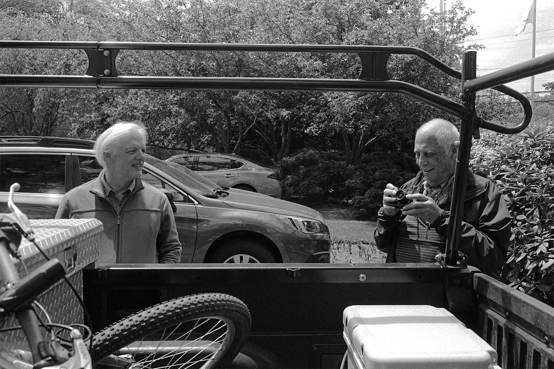 Thomas Palmer and Lee Friedlander. East Greenwich, RI. 2015.