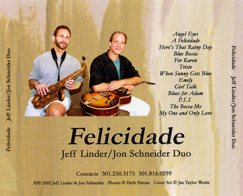 Linder/Schneider Duo's Music CD Insert
