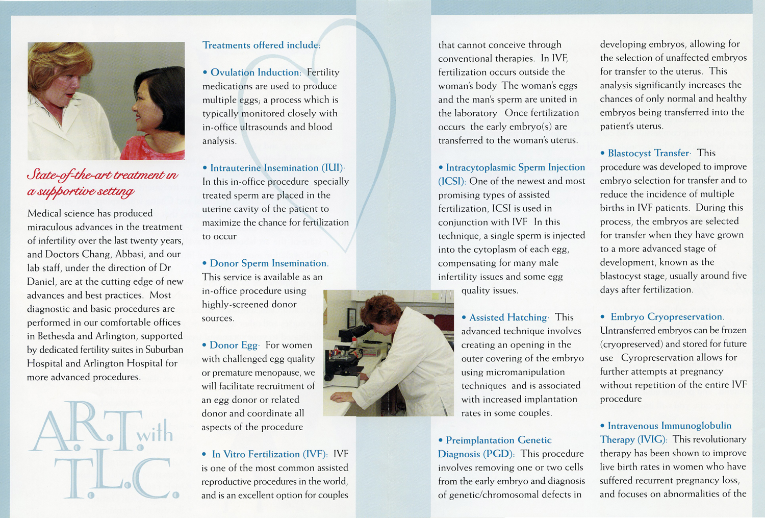 Mid-Atlantic Fertility Centers Brochure