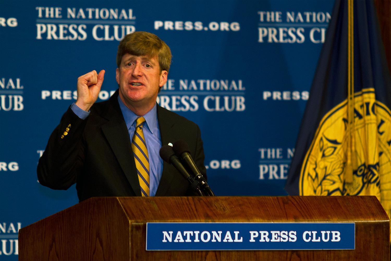Former U.S. Rep. Patrick Kennedy (D-RI)