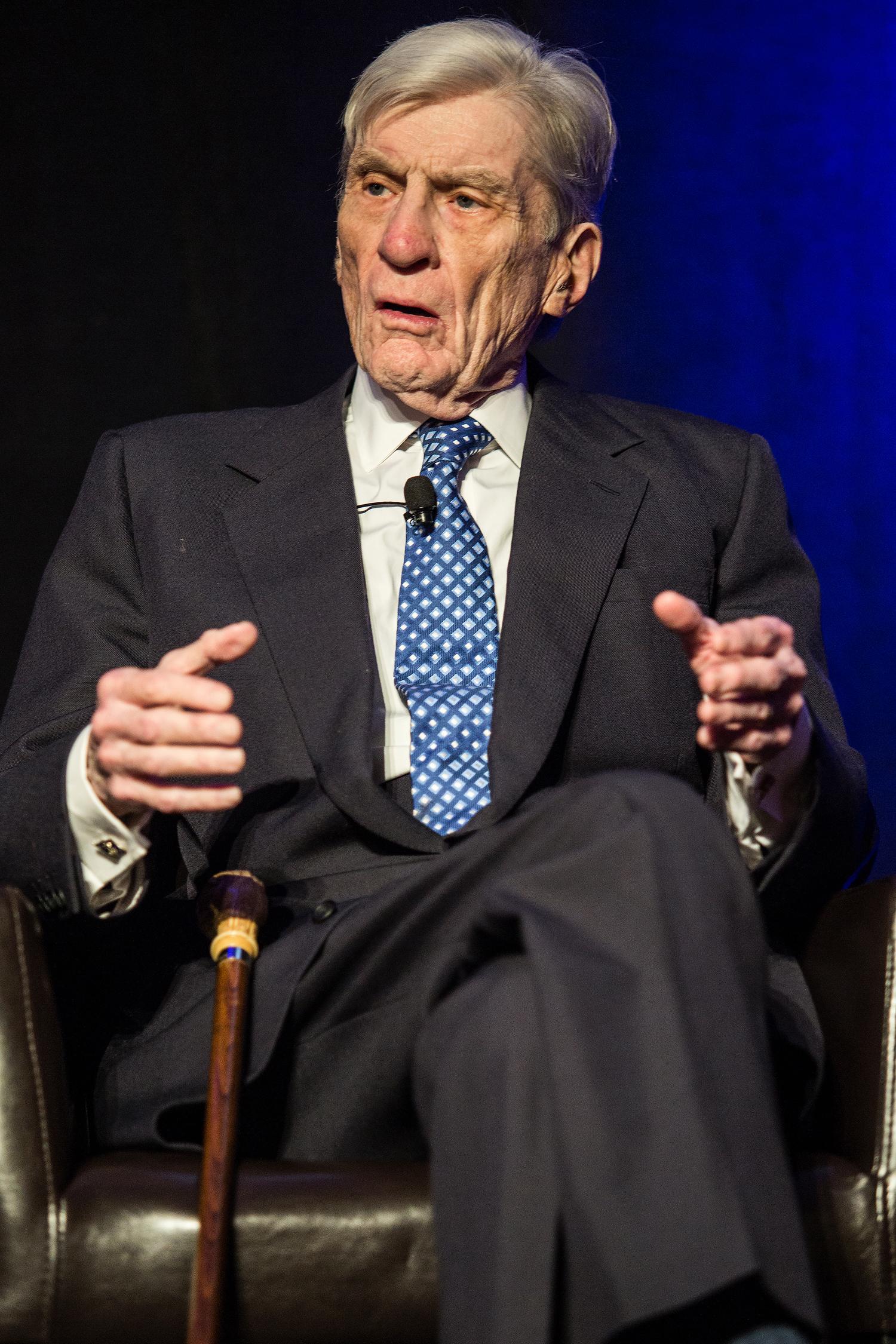 Former U.S.Sen. John Warner (R-VA)