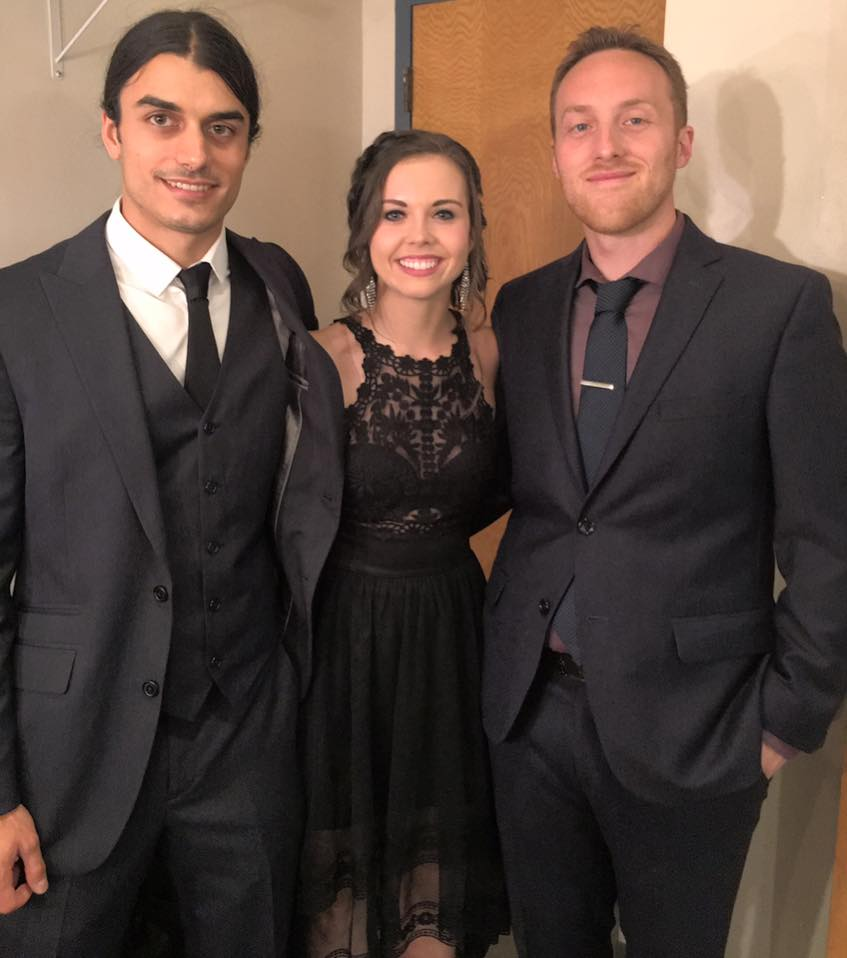 Backstage at the IBMA Awards Show