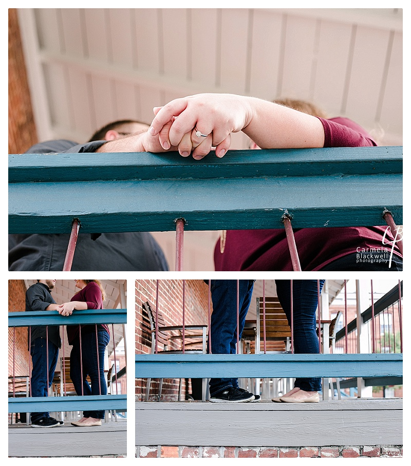 Love the vibrancy of the colors Emily & Caleb chose against the old brick buildings around Ybor Square & The Creative Loafing Loft.