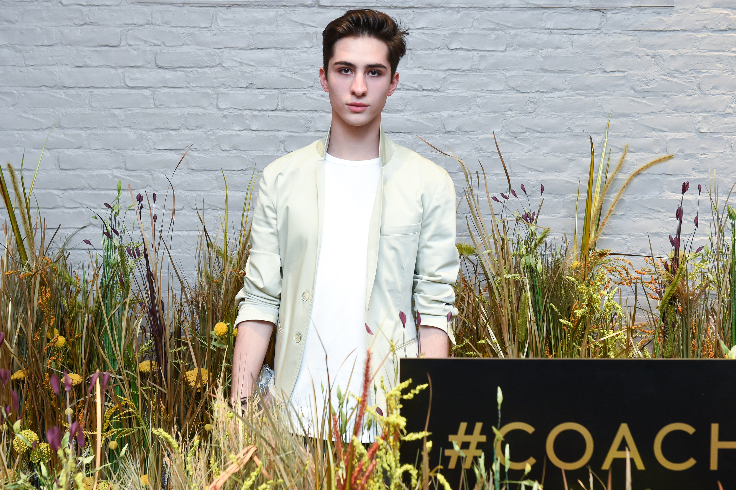 Ryan Matthew at the #Coach1941 Event in Soho.