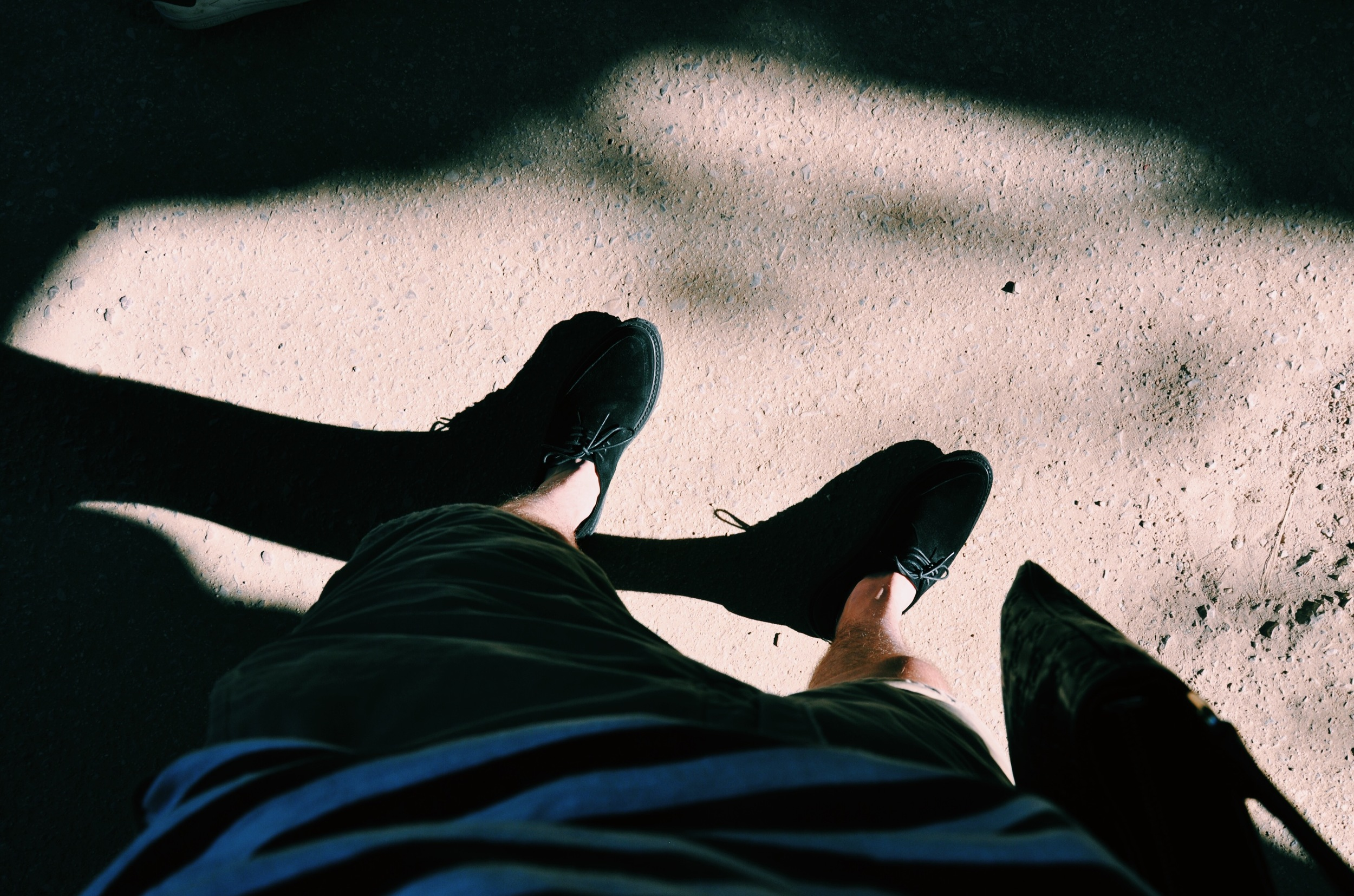 Above : My favorite black suede UNIF creepers