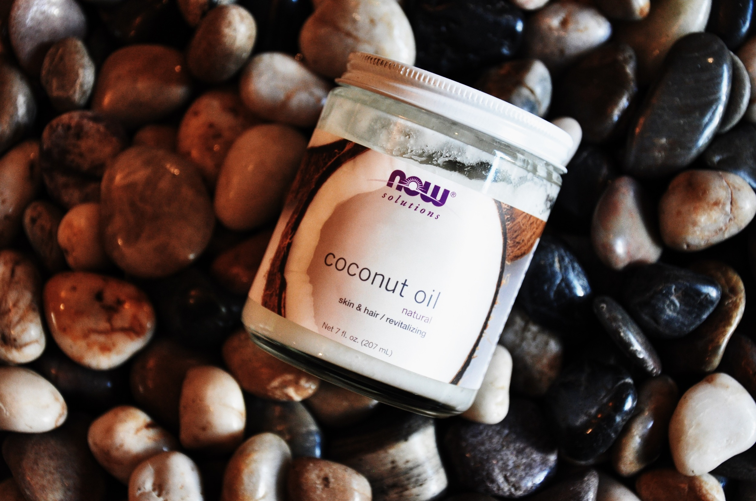 Natural Coconut Oil by Now Solutions.
