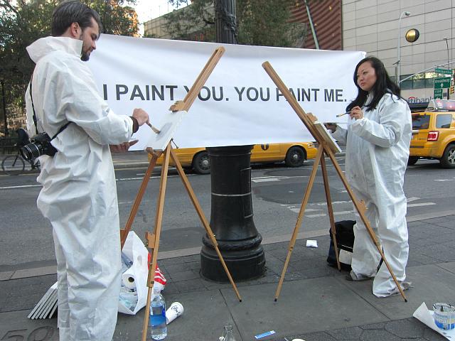 Piero Passacantando, I Paint You. You Paint Me