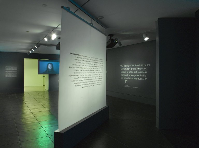 Installation at the Brooklyn Museum