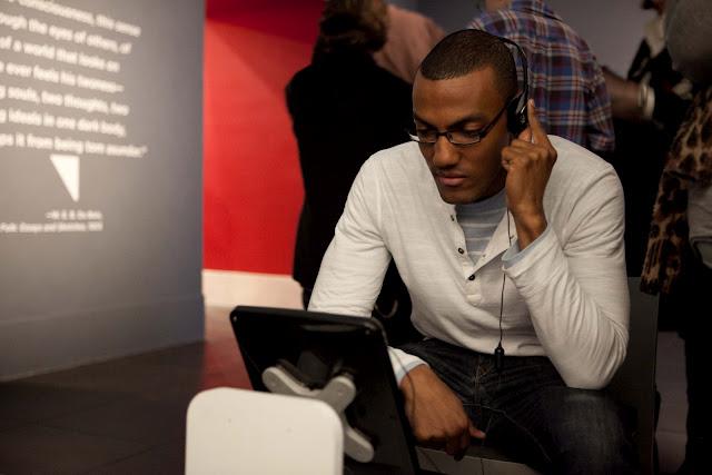Interactive I-PadInstallation at the Brooklyn Museum