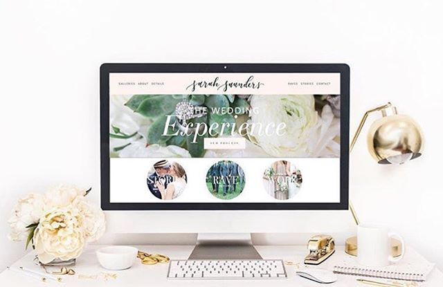 Kicking of 2017 with a site launch for the lovely and talented @sarahsaundersphoto! Sarah and her husband Luke are dream-come-true clients and we had an awesome time working on this project. Definitely check them out! 📷🌿
