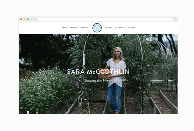 It was an absolute pleasure working with RVA-based health coach, Sara McGlothlin, on her new @squarespace site. Check it out and DO NOT SKIP the recipes page     www.saramcglothlin.com  Photos: @ashhobsoncarr & @saramcglothlin  Space: @forloveoflove & @tricycle_urban_ag