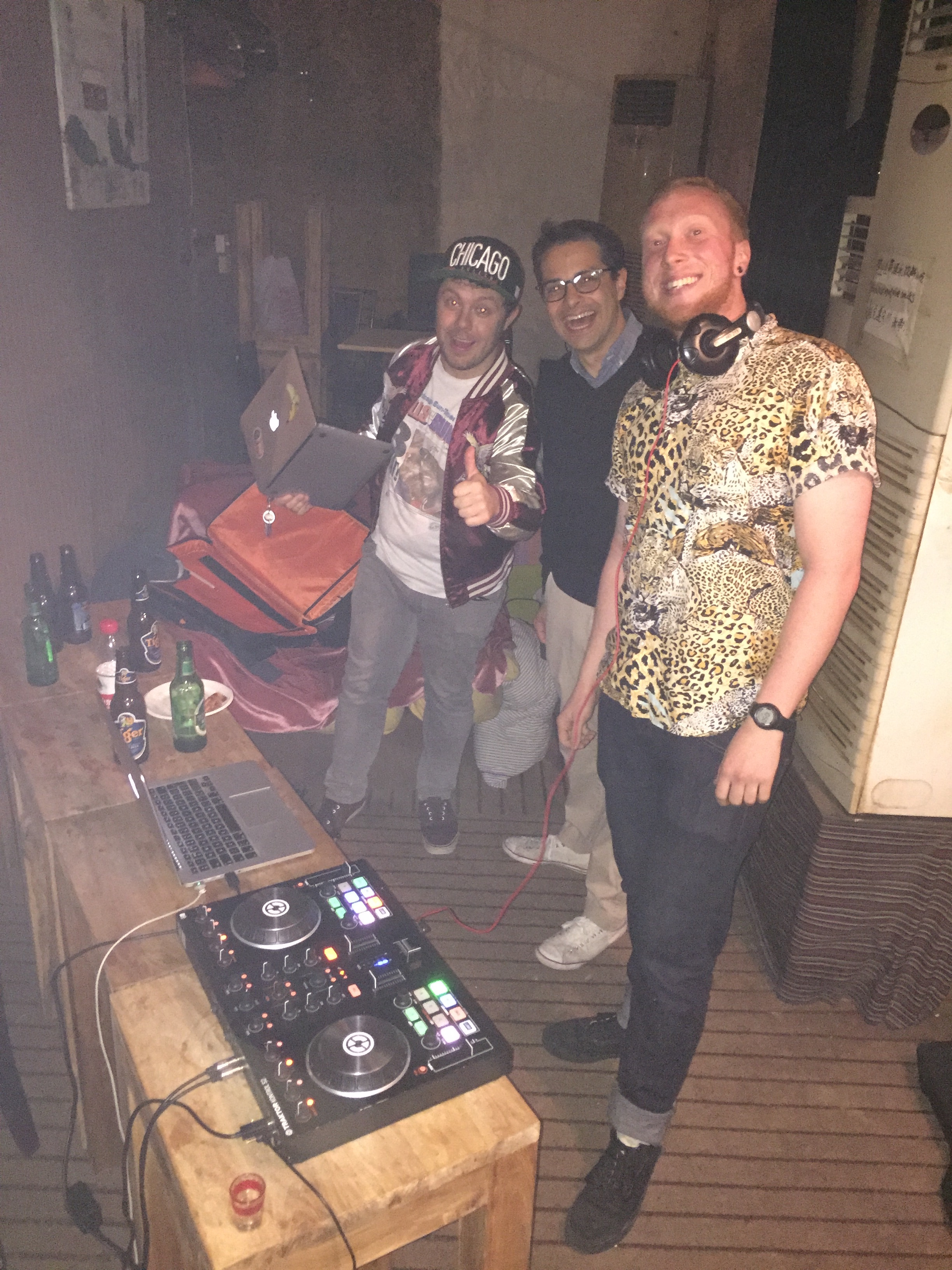 Club Paradise DJs at Loreli's 1 year anniversary party