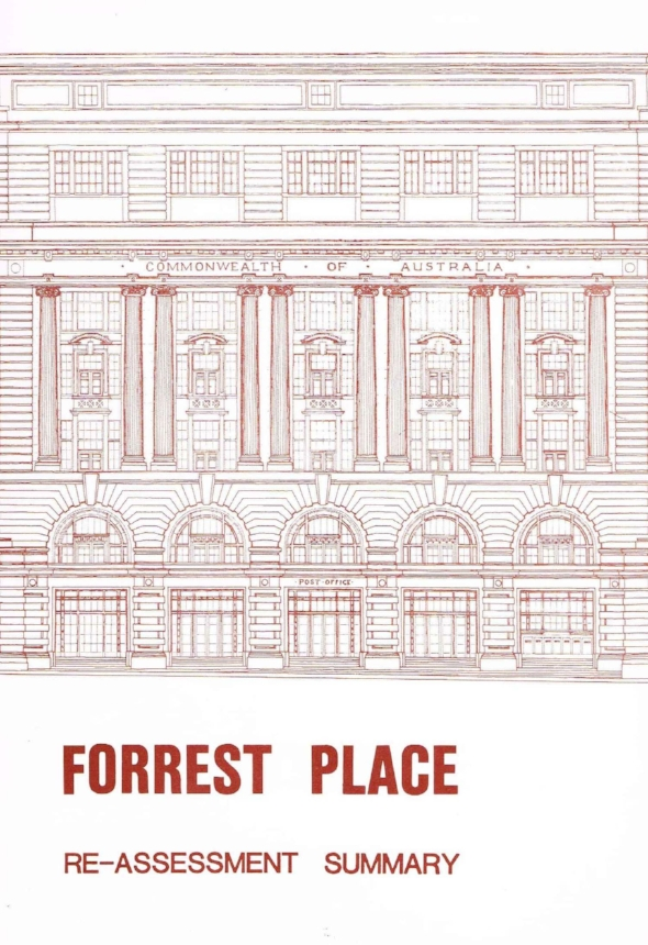 Forrest Place : Re-assessment summary   Edwards, G. O. (George Oswell), Perth (WA : Municipality) Council
