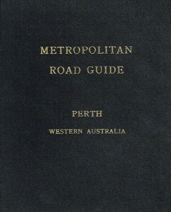 Metropolitan Road Guide : Perth Western Australia   City of Perth