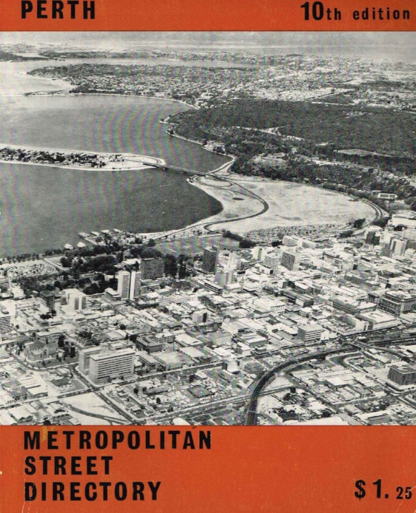 Metropolitan Street Directory : Perth   City of Perth